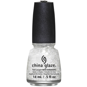China Glaze Lacquer - Twinkle Collection - CHILLIN' WITH MY SNOW-MIES 0.5 oz. (CG1352-TWINKLE)