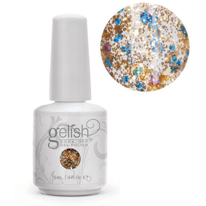 Gelish Soak Off Gel Polish - Haute Holiday 2014 Collection - Feeling Bubbly 0.5 oz #01482 (01482)