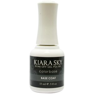 Kiara Sky Soak Off Gel Polish + Matching Lacquer - Base Coat (616914695990)