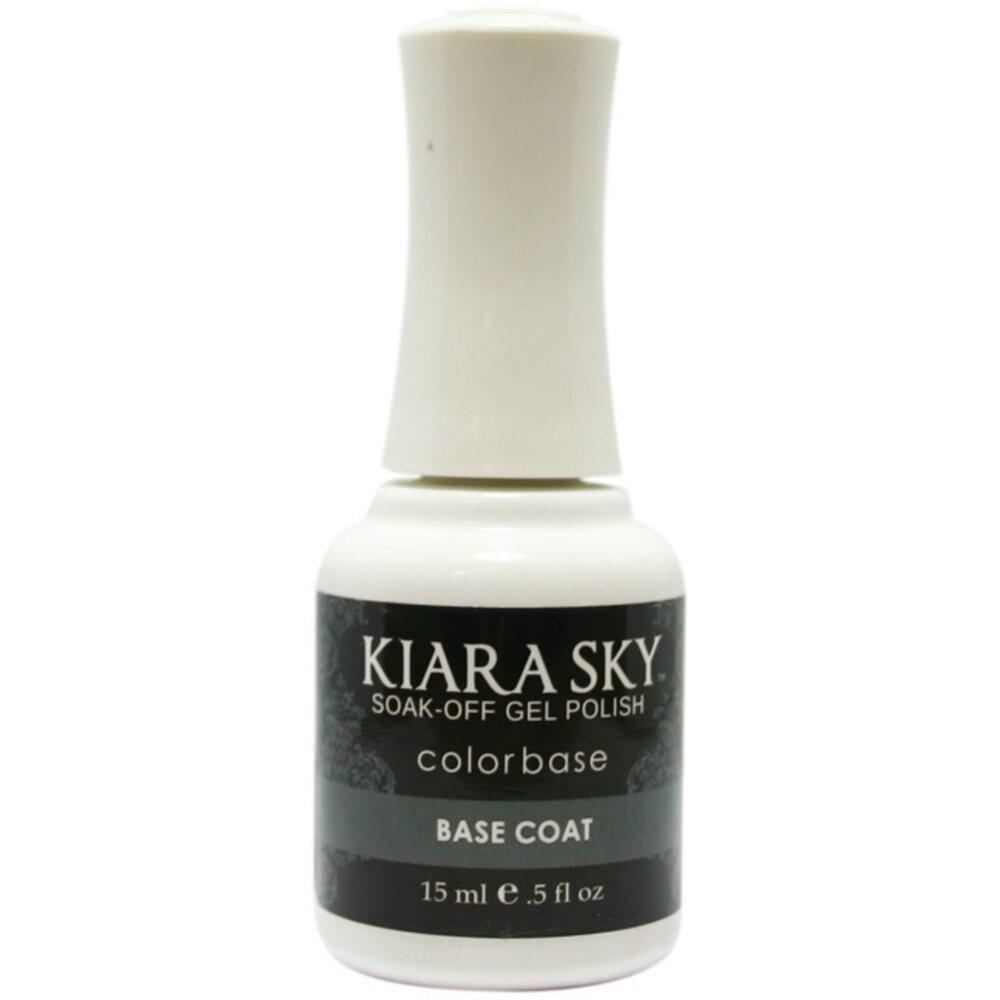 Kiara Sky Soak Off Gel Polish + Matching Lacquer - Base Coat ...