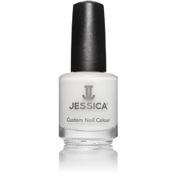 Jessica Custom Nail Colour Polish - Chalk White - Cream Finish 0.5 oz. (832)