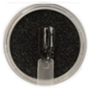 ANC Dip Powder - Black Glitter #102 2 oz. - part of the ANC Acrylic Nails Dipping System (ANCCP102)
