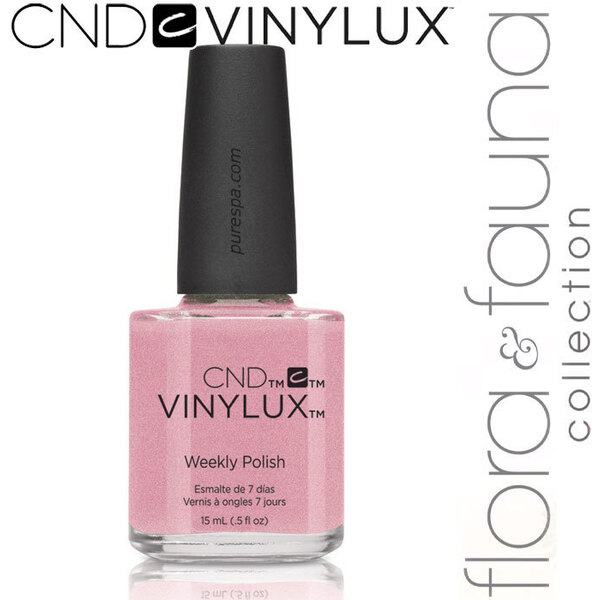 CND Vinylux Polish - Spring 2015 Flora & Fauna Collection - Fragrant Freesia 0.5 oz. - 7 Day Air Dry Nail Polish (639370907956 - #187)