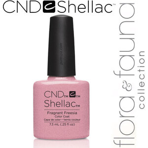 CND SHELLAC UV Color Coat - Spring 2015 Flora & Fauna Collection - Fragrant Freesia 0.25 oz. - The 14 Day Manicure is Here! (639370907925 - 90792)