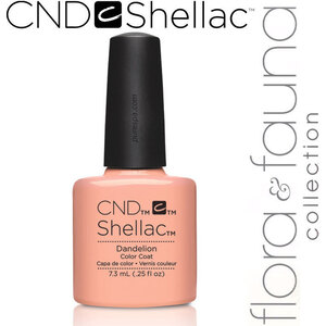 CND SHELLAC UV Color Coat - Spring 2015 Flora & Fauna Collection - Dandelion 0.25 oz. - The 14 Day Manicure is Here! (639370907819 - 90781)