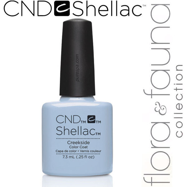 CND SHELLAC UV Color Coat - Spring 2015 Flora & Fauna Collection - Creekside 0.25 oz. - The 14 Day Manicure is Here! (639370907802 - 90780)