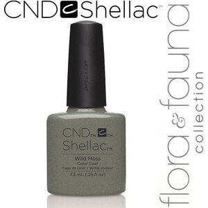 CND SHELLAC UV Color Coat - Spring 2015 Flora & Fauna Collection - Wild Moss 0.25 oz. - The 14 Day Manicure is Here! (639370907796 - 90779)