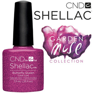 CND SHELLAC UV Color Coat - 2015 Garden Muse Collection - Butterfly Queen 0.25 oz. - The 14 Day Manicure is Here! (7219675000)