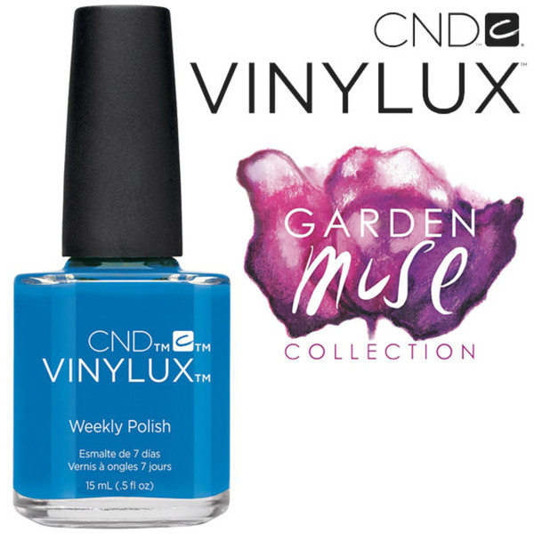 CND Vinylux Polish - 2015 Garden Muse Collection - Reflecting Pool 0.5 oz. - 7 Day Air Dry Nail Polish (7219734000)
