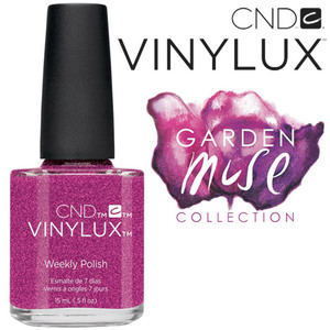 CND Vinylux Polish - 2015 Garden Muse Collection - Butterfly Queen 0.5 oz. - 7 Day Air Dry Nail Polish (7219732000)