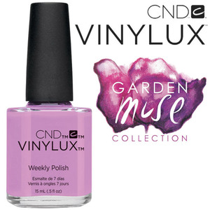 CND Vinylux Polish - 2015 Garden Muse Collection - Beckoning Begonia 0.5 oz. - 7 Day Air Dry Nail Polish (7219731000)
