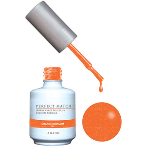 PERFECT MATCH - Soak Off Gel Polish + Lacquer - La Fleur Collection - Orange Blossom (PMS145 - DW145)