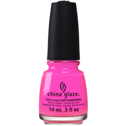China Glaze Lacquer - Electric Nights Collection - GLOW WITH THE FLOW 0.5 oz. (82602)