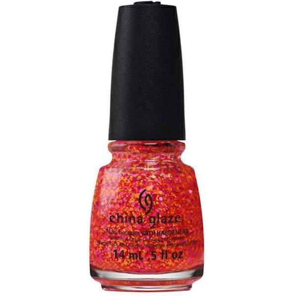 China Glaze Lacquer - Electric Nights Collection - LET THE BEAT DROP 0.5 oz. (82610)