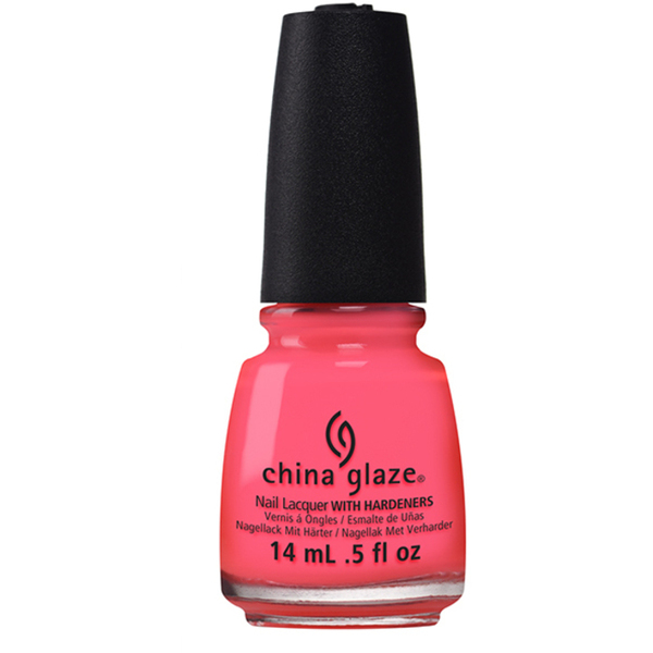 China Glaze Lacquer - Electric Nights Collection - RED-Y TO RAVE 0.5 oz. (82603)
