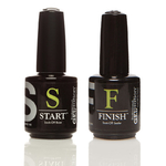 Jessica Geleration - Soak Off Base + Soak Off Sealer - Base and Top 0.5 oz. - 15 mL. Each ()