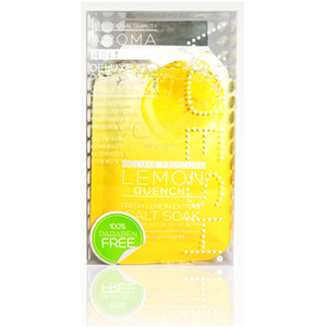 Voesh Deluxe Pedicure in a Box - 4-Step Hygienic Spa Pedicure Kit - Lemon Quench 1 Treatment Set by Voesh of New York ()