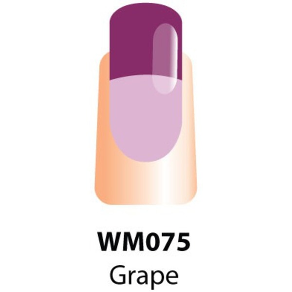 WaveGel Mood Color Soak Off Gel Polish - Grape Day 0.5 oz. (WM075)