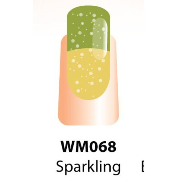 WaveGel Mood Color Soak Off Gel Polish - Sparkling Champagne 0.5 oz. (WM068)