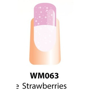 WaveGel Mood Color Soak Off Gel Polish - Strawberries & Creme 0.5 oz. (WM063)