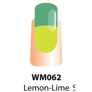 WaveGel Mood Color Soak Off Gel Polish - Lemon-Lime 0.5 oz. (WM062)