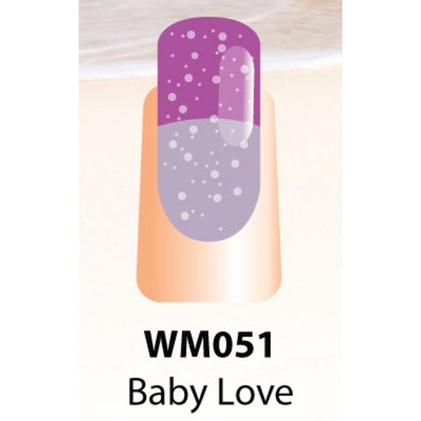 WaveGel Mood Color Soak Off Gel Polish - Baby Love 0.5 oz. (WM051)