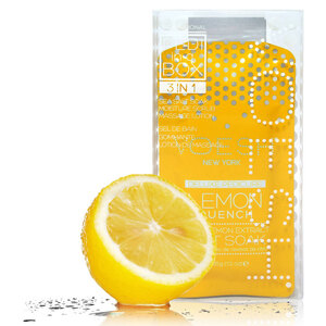 Voesh Basic Pedicure in a Box - 3-Step Hygienic Spa Pedicure Kit - Lemon Quench 1 Treatment Set by Voesh of New York ()
