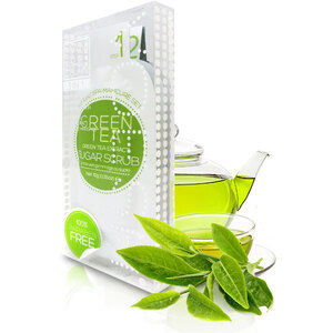 Voesh Waterless Manicure in a Box - 3-Step Hygienic Deluxe Manicure Kit - Green Tea 1 Treatment Set by Voesh of New York ()