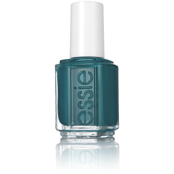 Essie Nail Color - Silk Watercolor Collection 2015 - Pen & Inky - a Graphic Teal Color 0.5 oz. (Essie931)