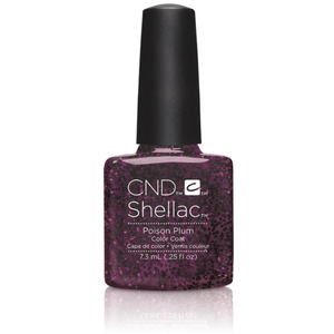 CND SHELLAC UV Color Coat - 2015 Contradictions Collection - Poison Plum 0.25 oz. - The 14 Day Manicure is Here! (7220195000)