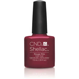 CND SHELLAC UV Color Coat - 2015 Contradictions Collection - Rouge Rite 0.25 oz. - The 14 Day Manicure is Here! (7220196000)