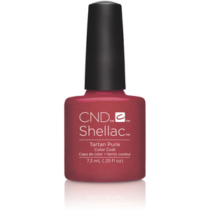 CND SHELLAC UV Color Coat - 2015 Contradictions Collection - Tartan Punk 0.25 oz. - The 14 Day Manicure is Here! (7220198000)