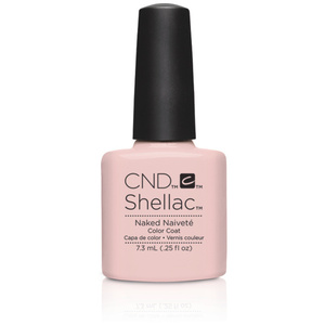 CND SHELLAC UV Color Coat - 2015 Contradictions Collection - Naked Naivete 0.25 oz. - The 14 Day Manicure is Here! (7220193000)