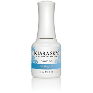 Kiara Sky - Ombre Color Changing Gel Polish - Mirror Mirror 0.5 oz. (G818)