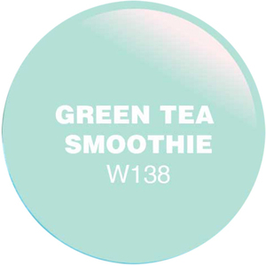WaveGel Matching Soak Off Gel Polish & Nail Lacquer - Green Tea Smoothie 0.5 oz. Each (WG138)