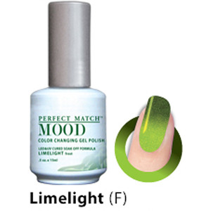 Mood Color Changing Soak Off Gel Polish - LIMELIGHT (frost) (MPMG42)