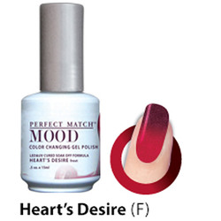 Mood Color Changing Soak Off Gel Polish - HEART'S DESIRE (frost) (MPMG38)