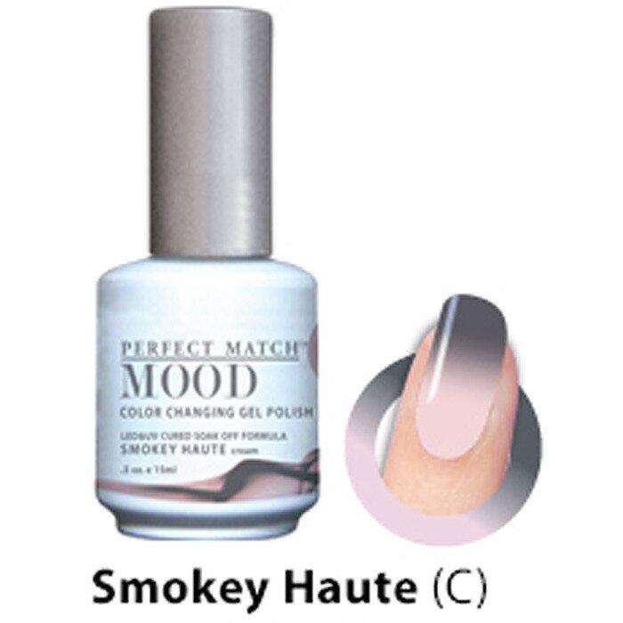 Mood Color Changing Soak Off Gel Polish - SMOKEY HAUTE (cream) (MPMG37)