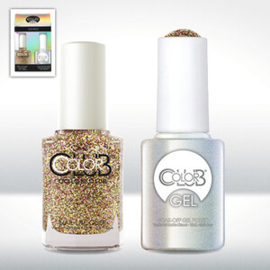 Color Club Gel Duo Pack - GINGERBREAD - 1 Gel Lacuqer 0.5 oz + 1 Lacquer 0.5oz Matching Color (GEL5259)