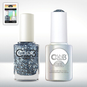 Color Club Gel Duo Pack - SAVOY NIGHTS - 1 Gel Lacuqer 0.5 oz + 1 Lacquer 0.5oz Matching Color (GEL1011)