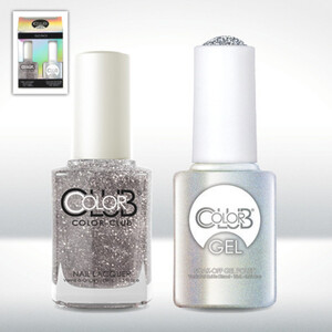 Color Club Gel Duo Pack - SEX SYMBOL - 1 Gel Lacuqer 0.5 oz + 1 Lacquer 0.5oz Matching Color (GEL842)