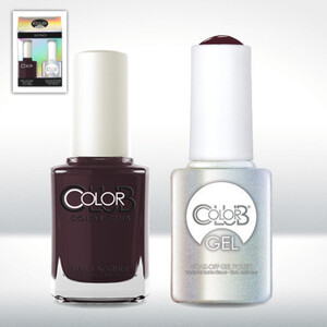 Color Club Gel Duo Pack - KILLER CURVES - 1 Gel Lacuqer 0.5 oz + 1 Lacquer 0.5oz Matching Color (GEL806)