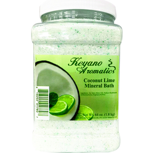 Keyano Aromatics Manicure & Pedicure - Coconut Lime Mineral Bath 64 oz. (KI700-64oz)