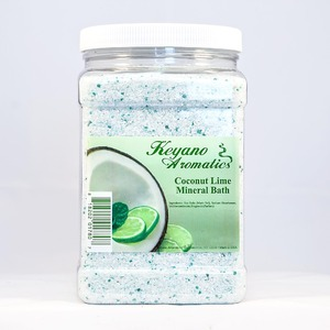 Keyano Aromatics Manicure & Pedicure - Coconut Lime Mineral Bath 1 Gallon (KI700-1gal)