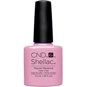 CND SHELLAC UV Color Coat - Art Vandal Collection - Mauve Maverick 0.25 oz. - The 14 Day Manicure is Here! ()
