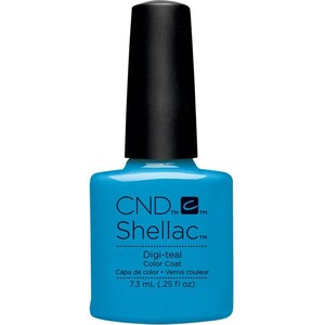 CND SHELLAC UV Color Coat - Art Vandal Collection - Digi-teal 0.25 oz. - The 14 Day Manicure is Here! ()