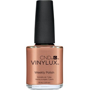 CND Vinylux Polish - Art Vandal Collection - Sienna Scribble 0.5 oz. - 7 Day Air Dry Nail Polish ()