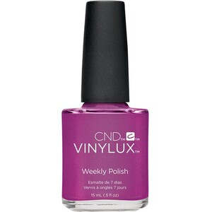 CND Vinylux Polish - Art Vandal Collection - Magenta Mischief 0.5 oz. - 7 Day Air Dry Nail Polish ()