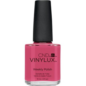 CND Vinylux Polish - Art Vandal Collection - Irreverent Rose 0.5 oz. - 7 Day Air Dry Nail Polish ()