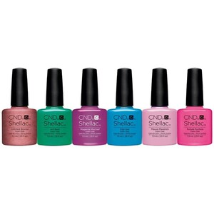 CND SHELLAC UV Color Coat - Art Vandal Collection 6 Piece Color Set - The 14 Day Manicure is Here! ()